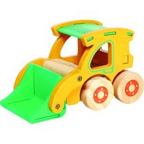Brinquedo Madeira- Carrinho- Carregadeira