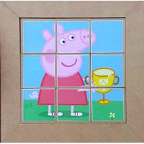 Quebra-cabeça Infantil Pepa Pig - Mdf