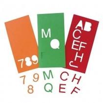 Alfanumérico Em E.v.a. 36 Peças, Desenhos E Formas De Letras