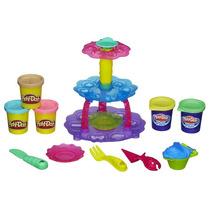 Play-doh - Torre De Cupcakes - Massinha - Hasbro + Frete