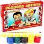 Molde Figura Gesso Brinquedo + Guache + Pincel - Anõezinhos