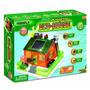 Eco Casa Placa Painel Solar Kit Montar Brinquedo Educativo