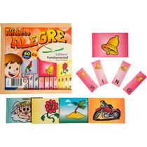Jogo Pedagógico Alfabeto Alegre Nina Brinquedos Educativos