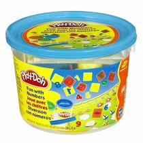 Play-doh Mini Balde Azul Números - Hasbro