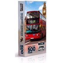 Quebra-cabeça 500 Peças Ônibus Londres