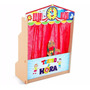 Teatro De Fantoches Da Hora Infantil Mdf Com 5 Peças - Carlu