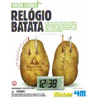 Kit Relógio Batata - Ciência Experiência 4m - Pronta Entrega