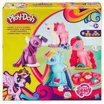 Massinha Play Doh My Little Pony Crie Seu Pônei B0009 Hasbro