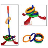 Jogo De Argola Suporte Pedestal Alvo Mira Brinquedo Infantil