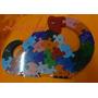 Dinossauro Numérico 26pcs Jogo Encanto Encaixe Educativos.