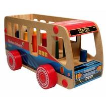 Ônibus Urbano Nina Brinquedos Educativos