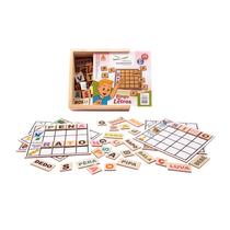 Bingo De Letras Em Madeira Nina Brinquedos Educativos