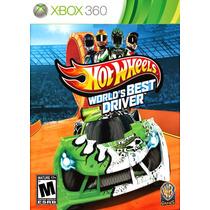 Hot Wheels Worlds Best Drive Game X360 3.0 Frete Grátis