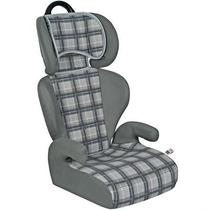 Cadeira Veicular Safety E Comfort Xadrez Cinza 15 Á 36 Kg -