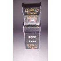 Miniatura Fliperama Diorama Maquina Arcade Double Dragon