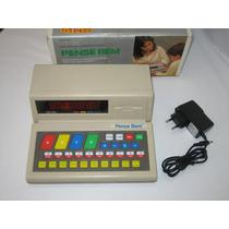 Pense Bem - Tec Toy - Funcionando - C/caixa - C/adaptador