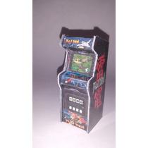 Miniatura Fliperama Diorama Maquina Arcade Raiden