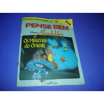 Livro Para Pense Bem Tec Toy Original , Aladdin