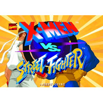 X-men Vs Street Fighter Placa B Capcom Cps2 Jamma Fliperama!