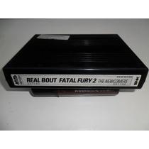Real Bout Fatal Fury 2 Cartucho Neo Geo Mvs Arcade Fliperama