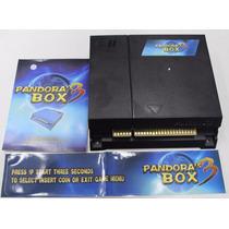 Placa Multijogo Pandora´s Box 3 Com 520 Jogos