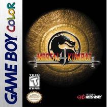 Lacrado! Jogo Nintendo Game Boy Color Mortal Kombat 4 Novo