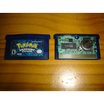 Nintendo Ds Gameboy Advance Pokemon Saphire Original