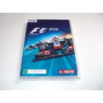 F1 Formula 1 2012 Original Lacrado Pc