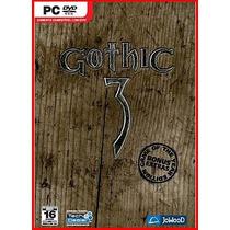 Jogo Original Lacrado Gothic 3 Bonus Extra Pc Frete Grátis