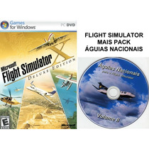 Flight Simulator X Deluxe + Pack Águias Nacionais