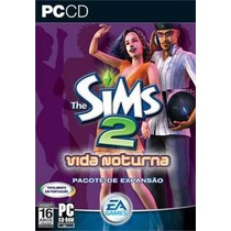 Game Pc The Sims 2 Vida Noturna Original Novo Lacrado