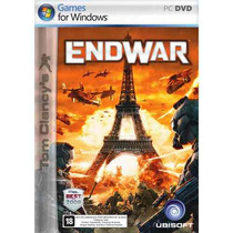 Game Pc Tom Clancy´s End War Dvd-rom