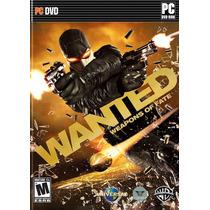 Wanted Weapons Of Fate Pc Game Original Lacrado Frete Grátis
