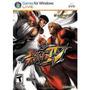 Jogo Street Fighter Iv Pra Pc Original E Lacrado Nota Fiscal