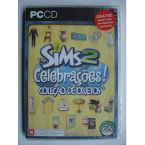 The Sims 2 Celebrações Pc Game Lacrado Frete Grátis Rj