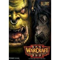 Jogo Pc Warcraft 3 Iii Reign Of Chaos Novo E Lacrado Para Pc