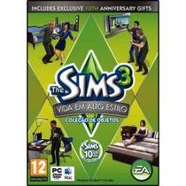 Jogo Pack The Sims 3 Vida Em Alto Estilo Para Pc E Mac