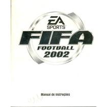 Somente Manual Original Em Portugues Game Fifa Football 2002