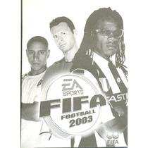 Somente Manual Original Em Portugues Game Fifa Football 2003
