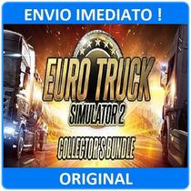 Euro Truck Simulator 2 + Pacote Com 9 Itens, 4 Dlc, Steam Pc