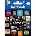 Facebook Game Card 45 Reais ( Para Jogos Do Facebook )