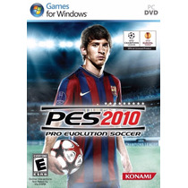Jogo Pro Evolution Soccer 2010 Pes 2010 Para Pc - Novo