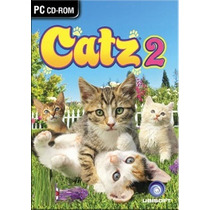 Game - Pc Dvd Catz 2 - Original Lacrado - Classico Ps2