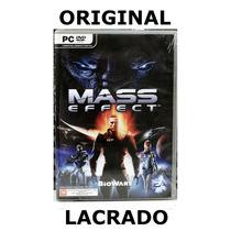 Pc Game Mass Effect Original Novo E Lacrado