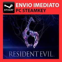 Resident Evil 6 + 5 Bônus! Jogo Digital Steam Key Pc Gta V 5