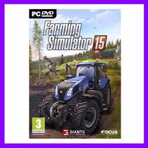 Farming Simulator 2015 - Original - Lacrado - Pc Dvd
