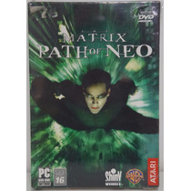 The Matrix Path Of Neo Jogo Pc Original Lacrado
