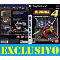 Jogo Digimon World 4 Ps2 Exclusivo!