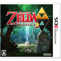 The Legend Of Zelda: A Link Between Worlds 3ds Japonês