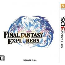 Final Fantasy Explorers 3ds Japonês
